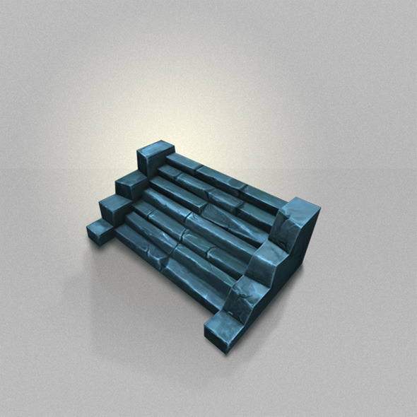 Floor Level Low Poly - 3DOcean Item for Sale