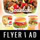 Fast Food Flyer / Magazine AD - GraphicRiver Item for Sale