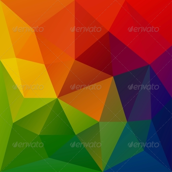Abstract Geometrical Background - Abstract Conceptual