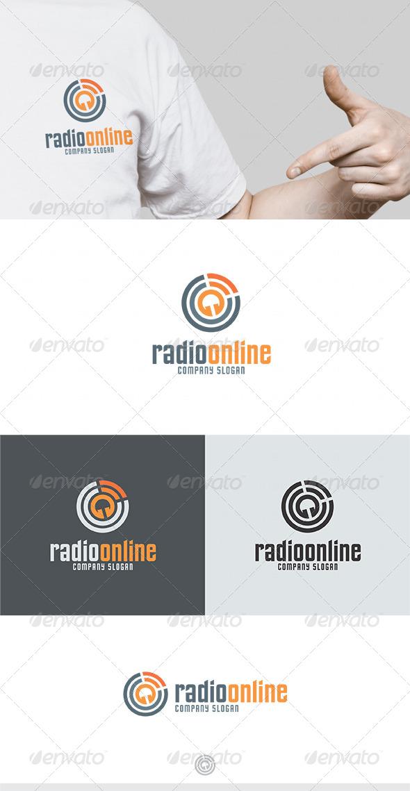 Radio Online Logo - Symbols Logo Templates