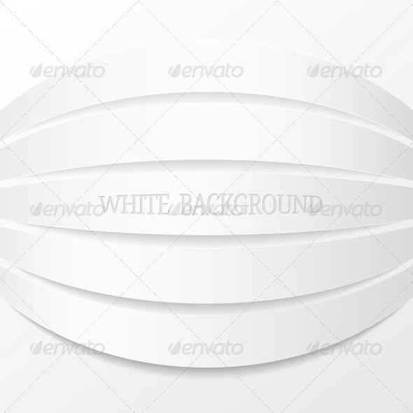 Abstract White Background. Vector Illustration - Abstract Conceptual