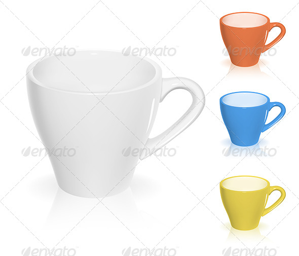 Coffee Cup - Objects Vectors