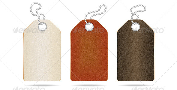 Leather Tag - Miscellaneous Vectors