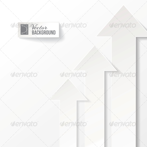 Arrow Vector Background - Abstract Conceptual