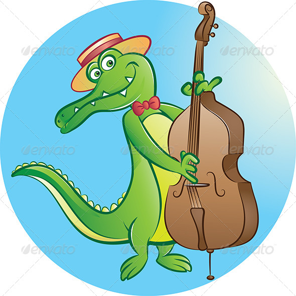 Contrabass Player - Animals Characters