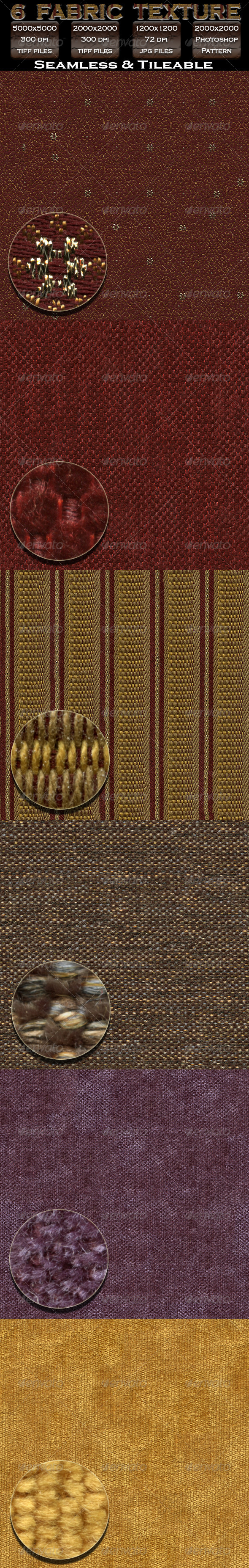 6 Fabric Texture Pack - Fabric Textures