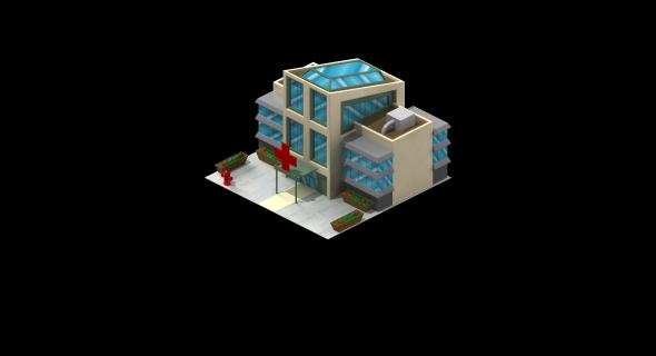 Social Game Hospital - 3DOcean Item for Sale