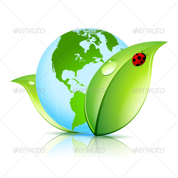 Green Earth Icon - Concepts Business