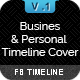 Business Fanpages and Personal Timeline FB Cover - GraphicRiver Item for Sale