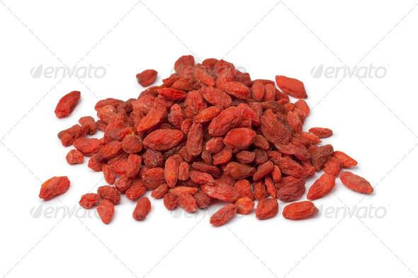Dried Goji berries - Stock Photo - Images