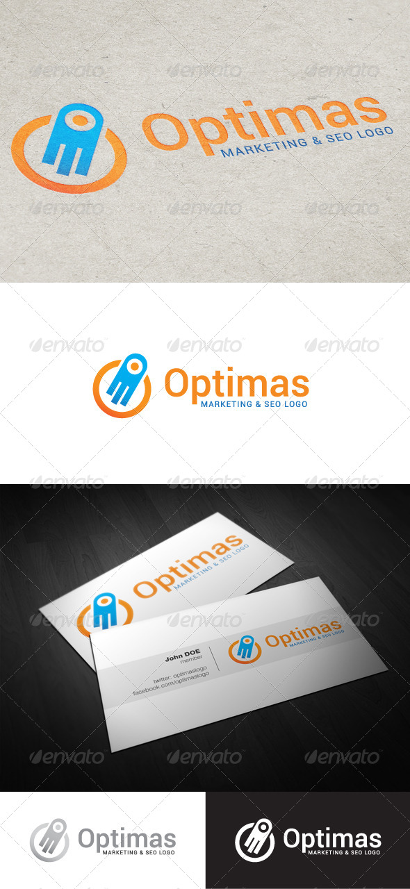 Optimas Marketing & SEO Logo - Abstract Logo Templates