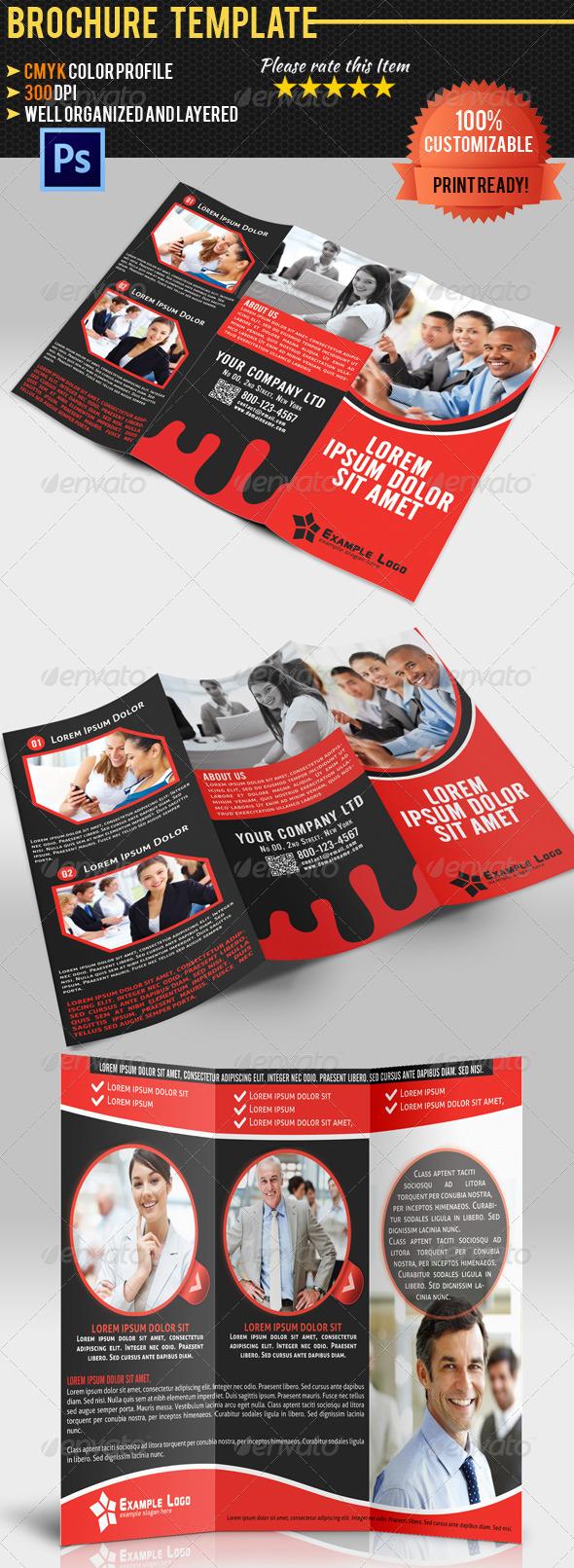 Tri-Fold Corporate Business Brochure 05 - Corporate Brochures