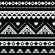 Aztec Seamless Pattern, Tribal Black and White - GraphicRiver Item for Sale