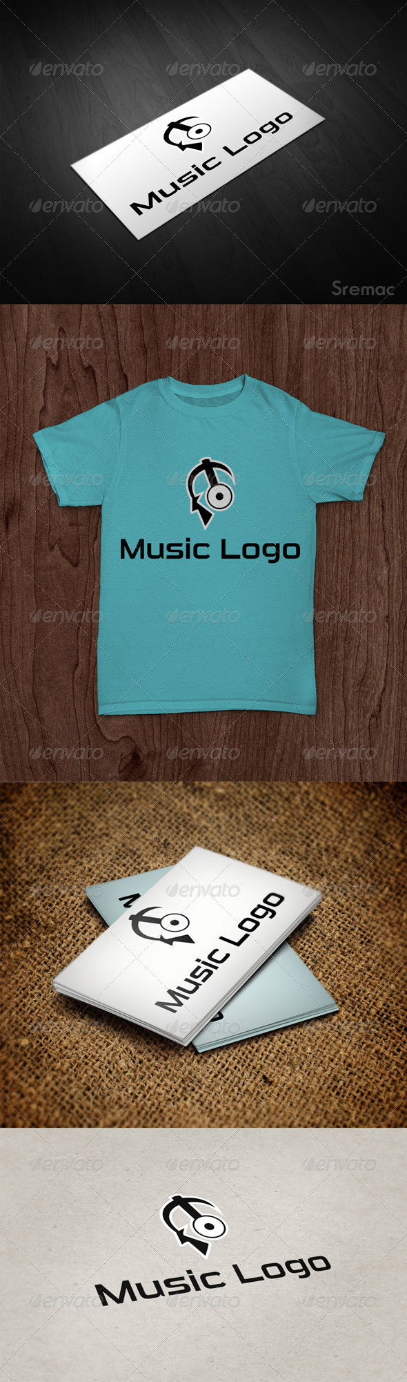 Music Logo - Humans Logo Templates