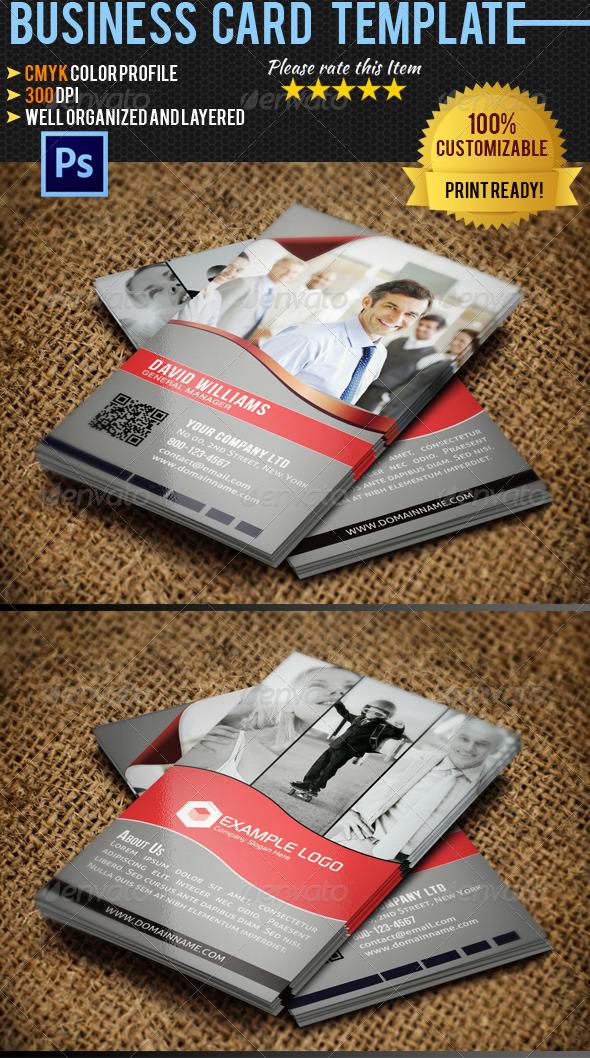 Corporate Business Card 021 - Corporate Business Cards