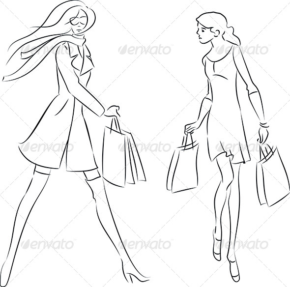 Shopping Women - Commercial / Shopping Conceptual