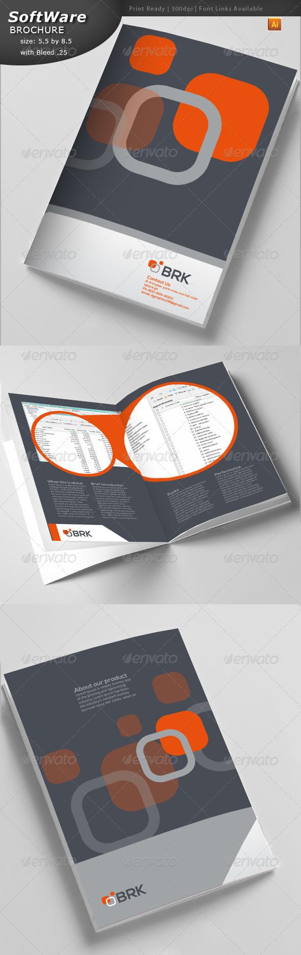 IT Brochure  - Brochures Print Templates