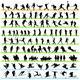Sport Silhouettes Set - GraphicRiver Item for Sale