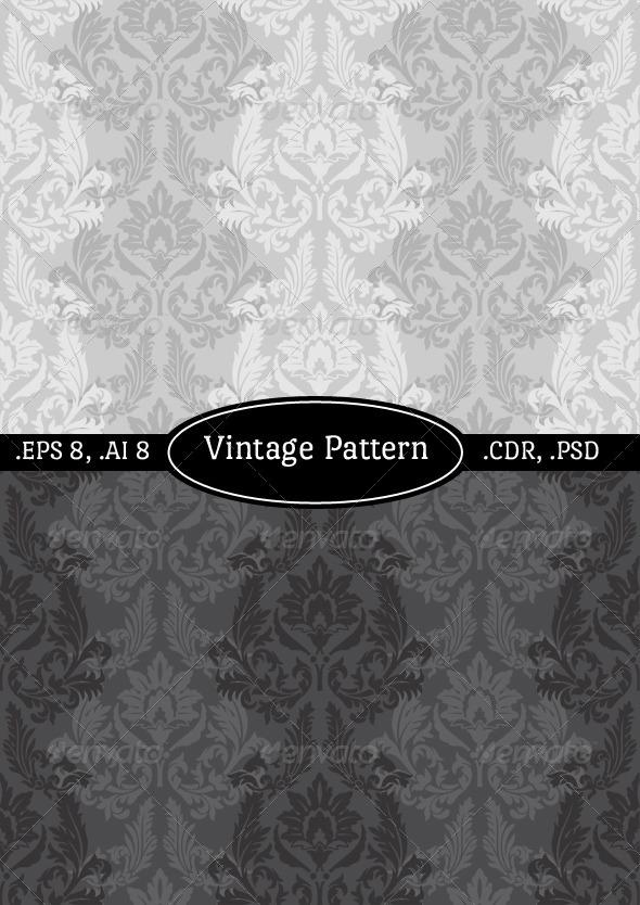 Vintage Wallpaper Pattern - Patterns Decorative