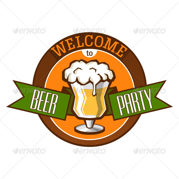 Invitation to Beer Party - Miscellaneous Seasons/Holidays