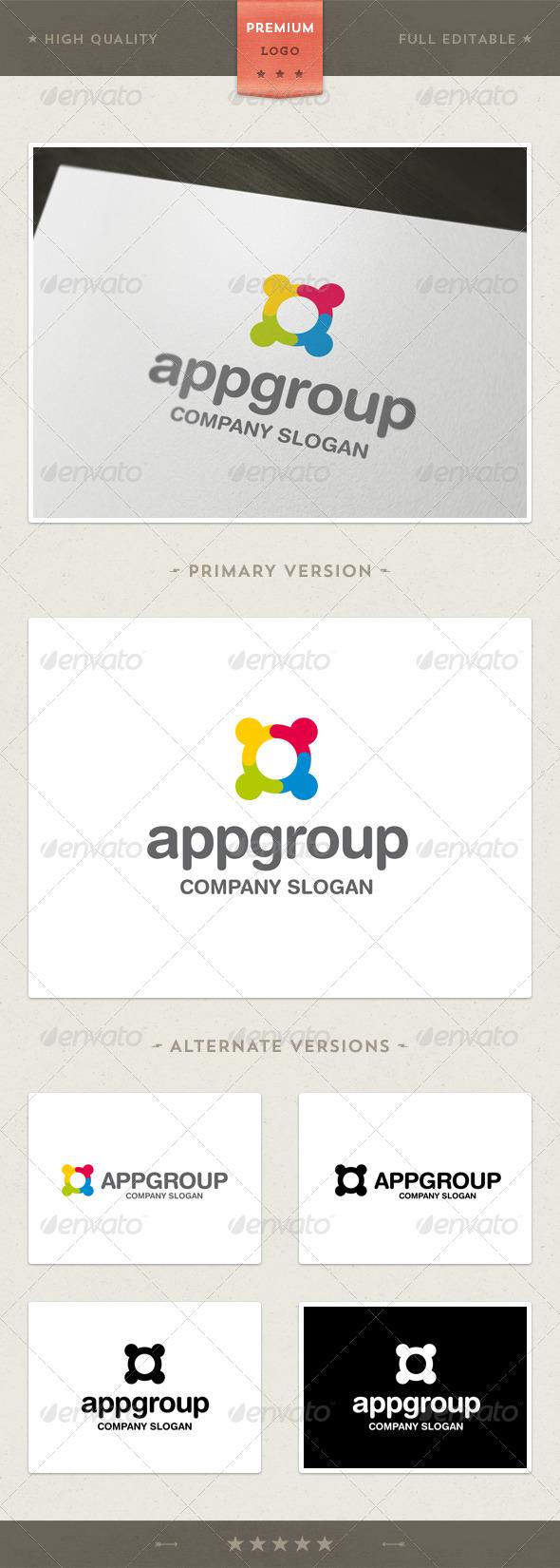 App Group Logo Template - Symbols Logo Templates