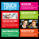 Touch Screen Flyer - GraphicRiver Item for Sale