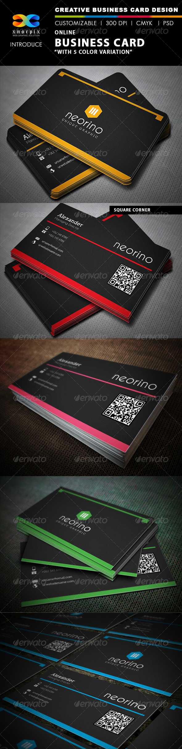 Online Business Card - Corporate Business Cards