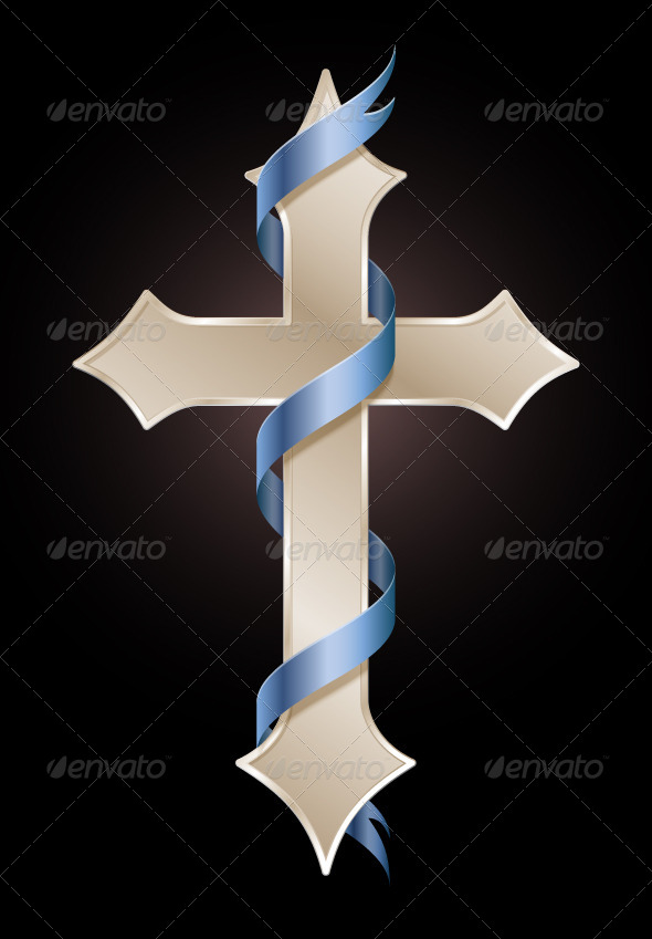 Cross of Hope - Backgrounds Decorative