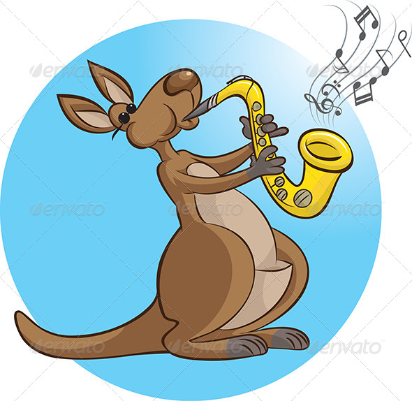 Saxophonist - Animals Characters