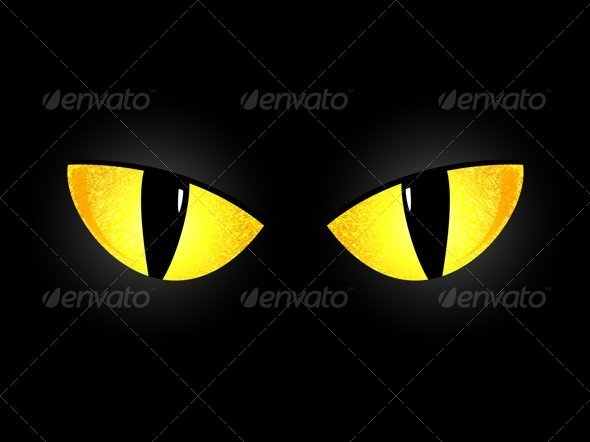 Eyes of a Black Cat - Monsters Characters