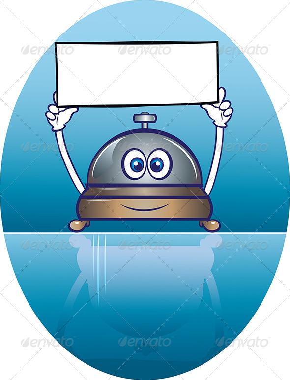 Bell Ring Mascot - Characters Vectors