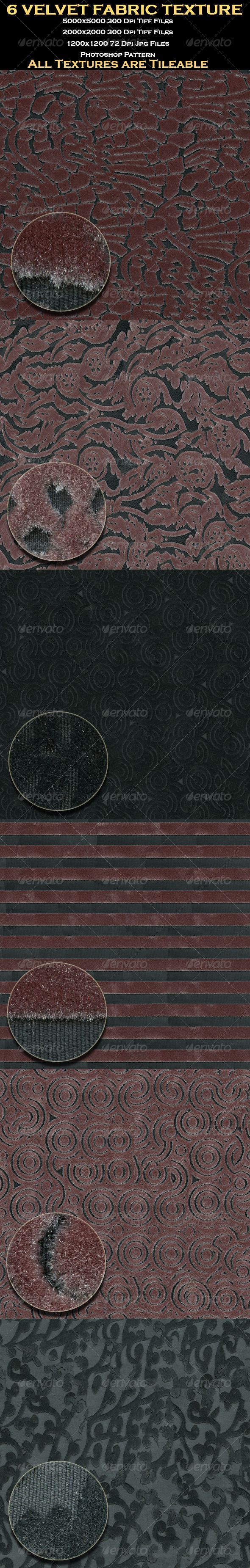 6 Velvet Fabric Texture - Textures