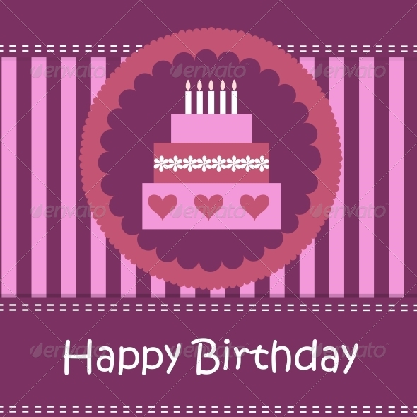 Birthday Card with Copy Space - Birthdays Seasons/Holidays