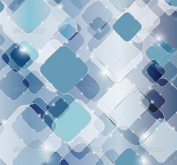 Abstract Technology Background Vector Illustration - Backgrounds Decorative