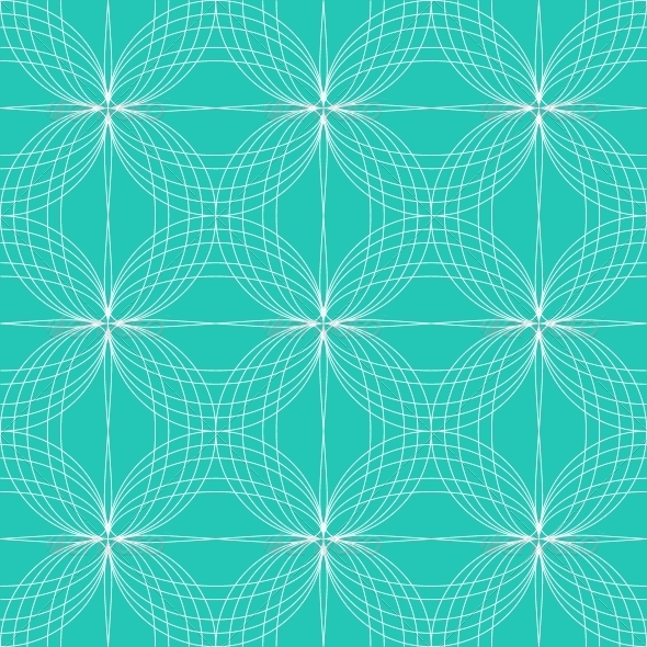 Abstract Seamless Pattern Hypnotic Background - Patterns Decorative