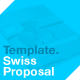 Swiss Proposal Template - GraphicRiver Item for Sale