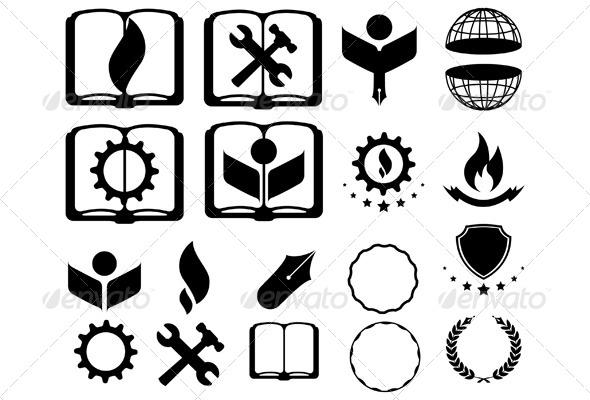 Logo Elements - Miscellaneous Conceptual