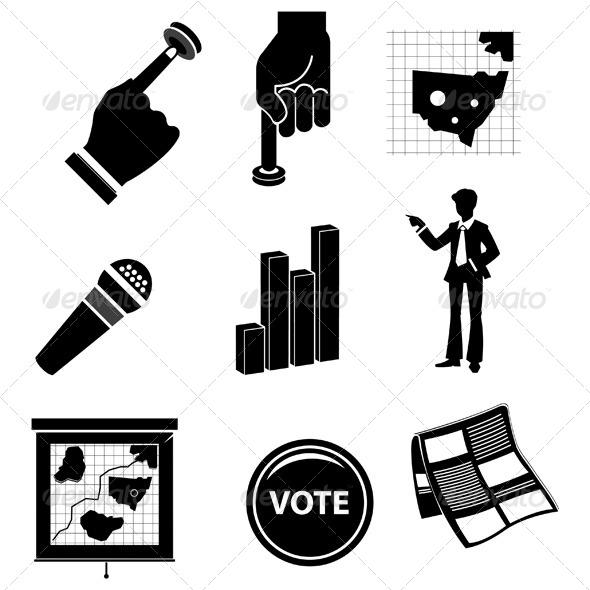 Poll Campaign Elements - Miscellaneous Vectors