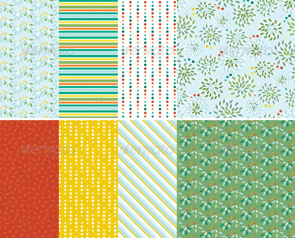 Abstract Seamless Patterns - Patterns Decorative
