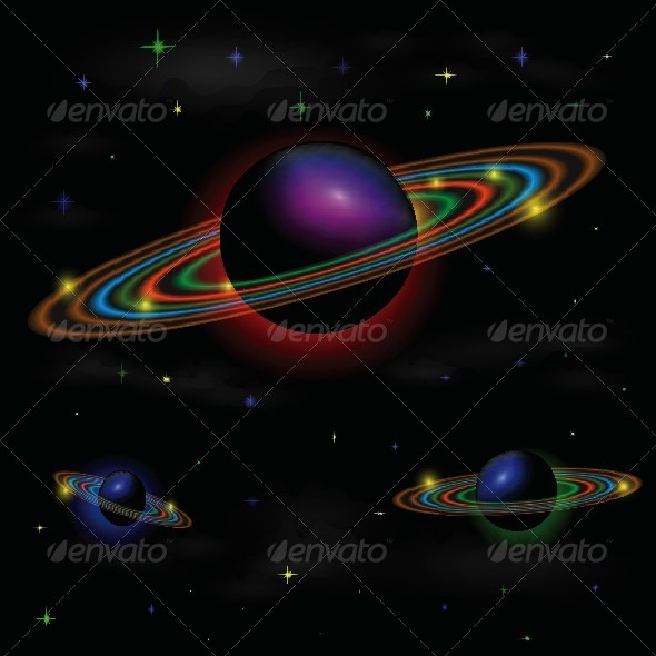 Space Background - Backgrounds Decorative
