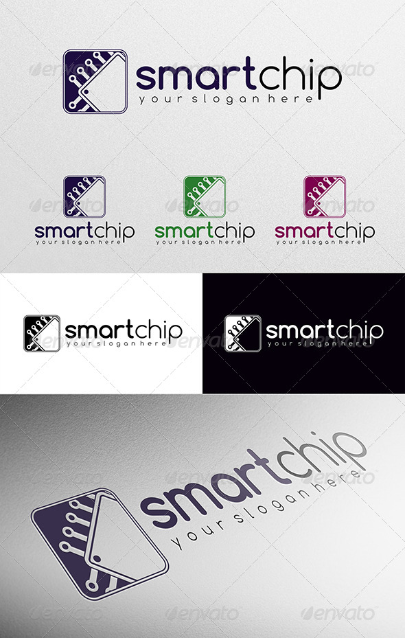 Smart Chip - Objects Logo Templates