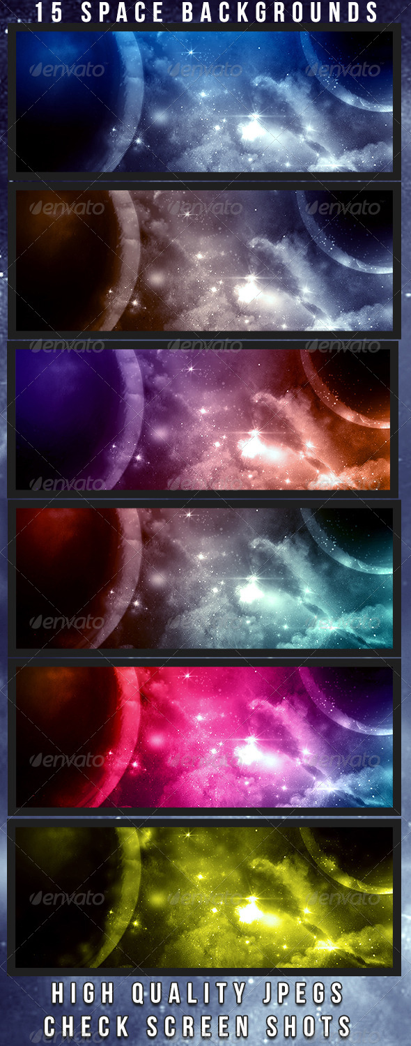 Space Backgrounds - Tech / Futuristic Backgrounds