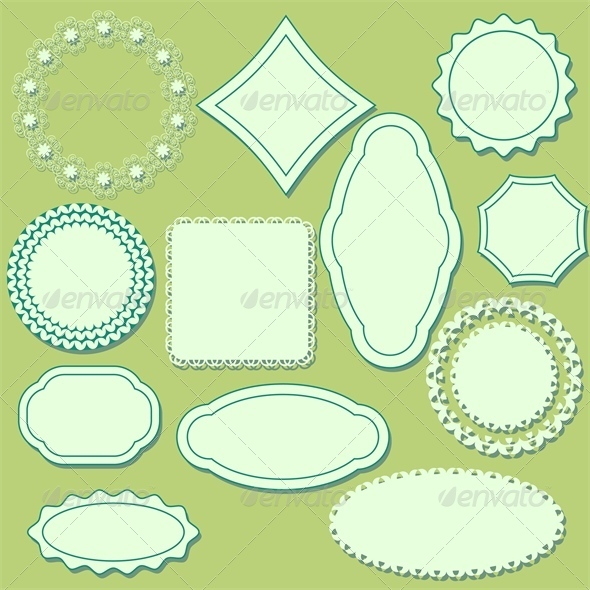 Decorative Labels - Borders Decorative