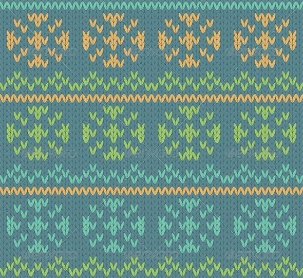 Knit Pattern - Patterns Decorative