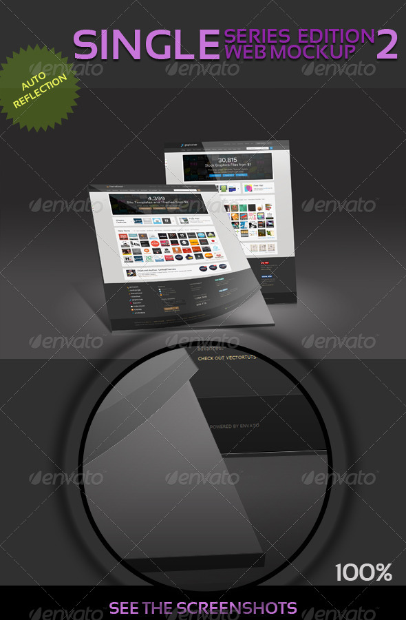 Ultimate Web Mockup Pack 3 - Website Displays