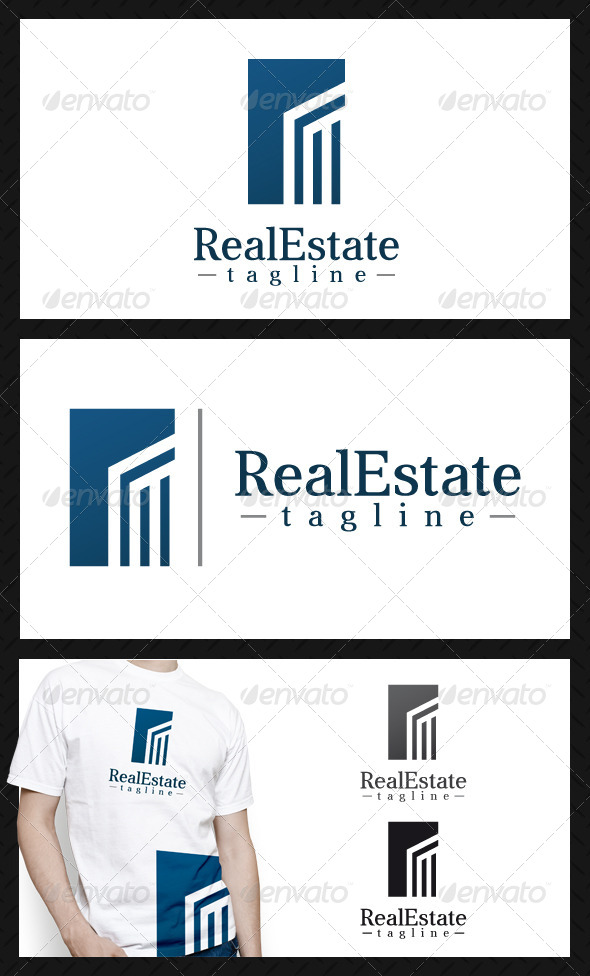 Real Estate Building Logo Template - Buildings Logo Templates