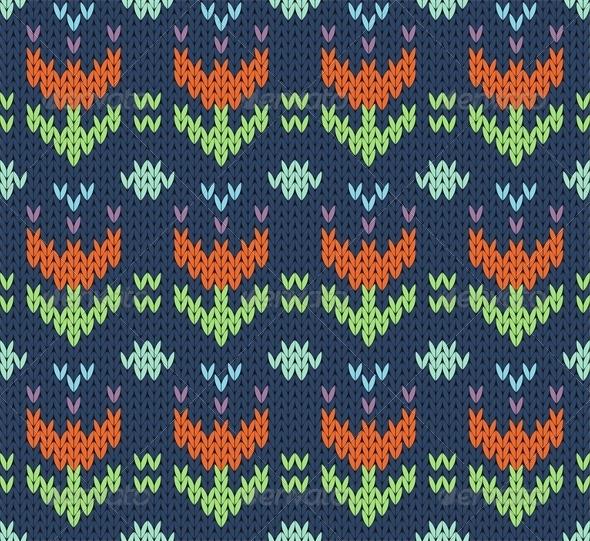 Knit Pattern - Patterns Decorative