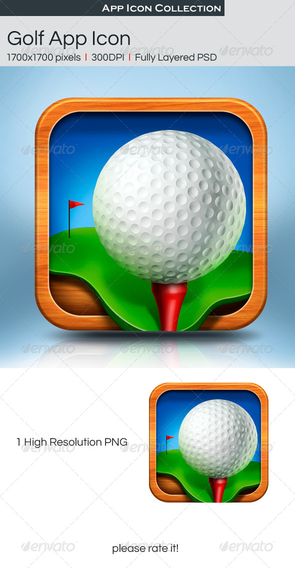 Golf App Icon - Icons