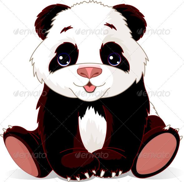 Baby Panda - Animals Characters