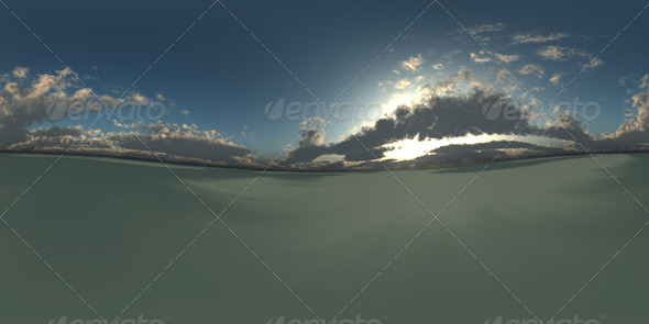 Dusky Sky HDRI - 3DOcean Item for Sale